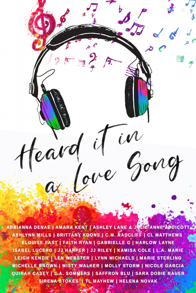 Heard it in a love song, Rainbow, Headphones, Music, Romance, Anthology, Short Stories