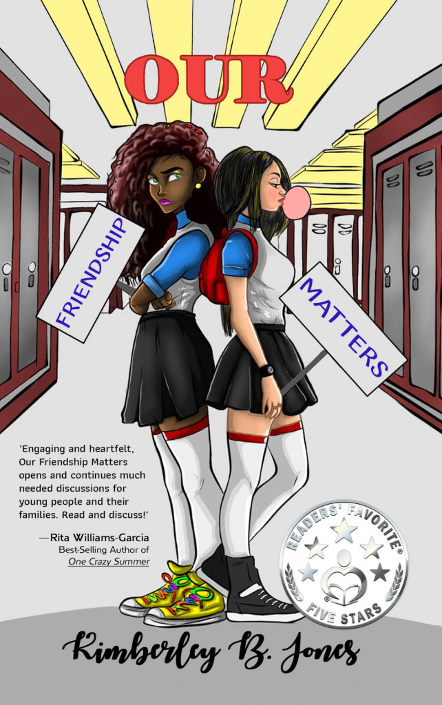 Our Friendship Matters, Signs, Girls, Class, School, Lockers, Door, Young Adult, Friendship, Kimberley B. Jones