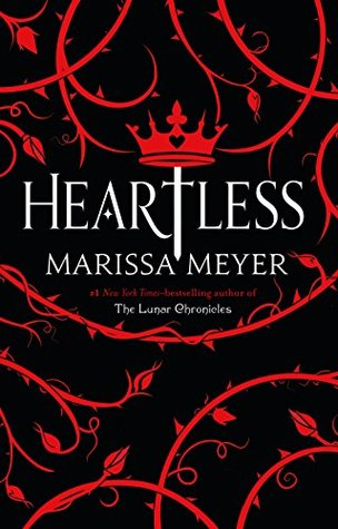 Heartless, Crown, Sword, Thorns, Roses, Red, Black, Fantasy, Marissa Meyer
