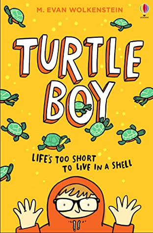 M. Evan Wolkenstein, Turtle Boy, Turtles, Boy, Hoodie, Orange, Children's Books, Illness, Friendship,