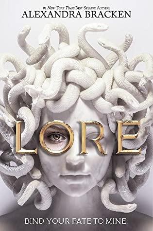 Lore, Alexandra Bracken, Medusa, Snakes, Girl, Young Adult, Mythology