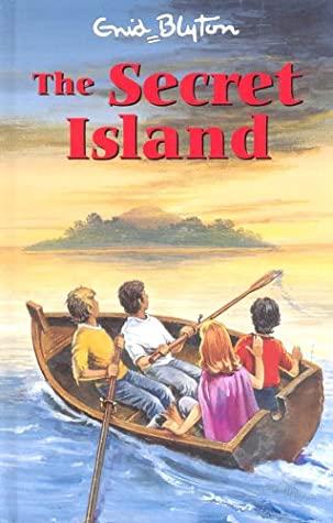 The Island, The Secret Series, Enid Blyton, Children's Books, Mystery, Boat, Lake/Sea, Children, Island, Clouds, Adventure