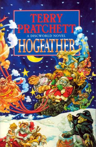 Hogfather, Terry Pratchett, DEATH, Hogs, Witches, Snow, Night, Presents, Sleigh