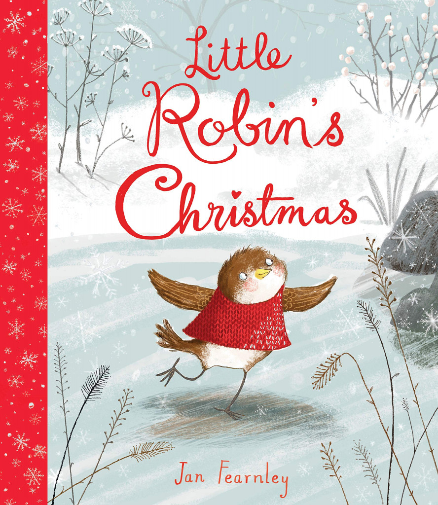 Little Robin's Christmas, Jan Fearnley, Robin, Bird, Ice, Nature, Cute, Picture Book, Red Sweater, Friendship, Animals, Children's Books