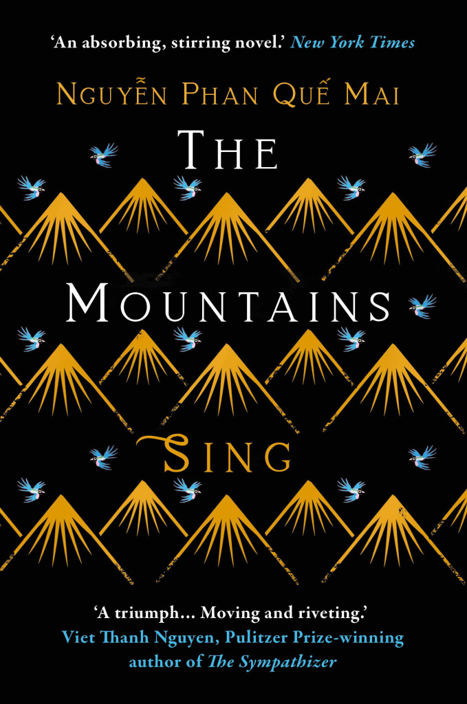 The Mountains Sing, Vietnam, Asia, Historical Fiction, Black, Mountains, Gold, Nguyễn Phan Quế Mai