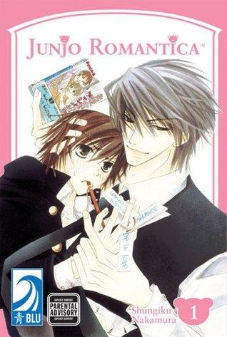 Junjo Romantica, Volume 01, Shungiku Nakamura, Yaoi, LGBT, Romance, Manga, Two Guys, Hugging