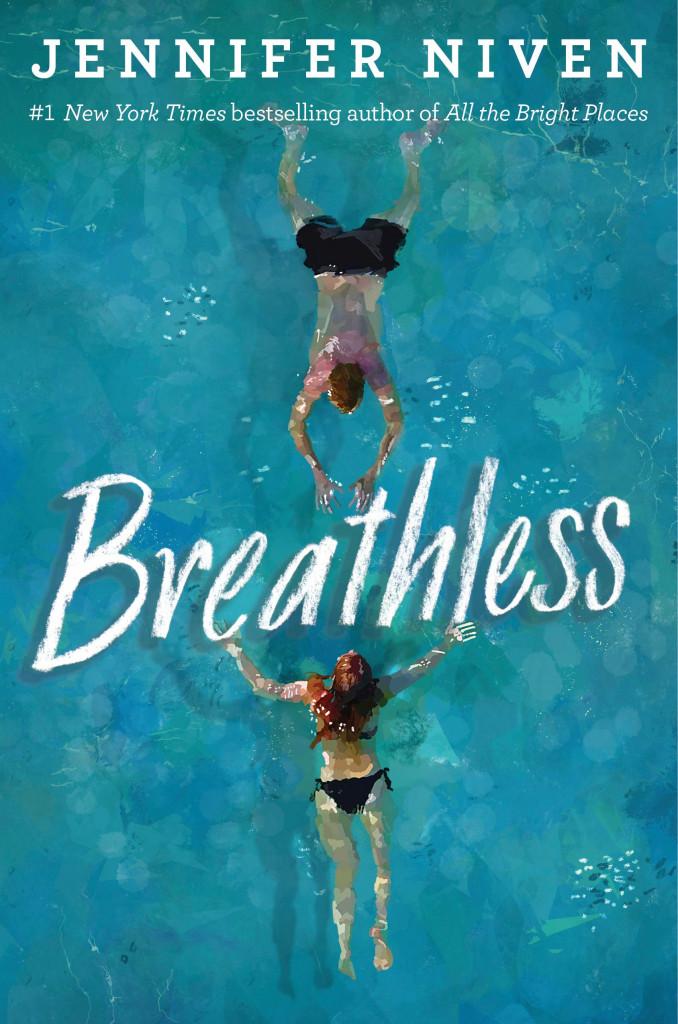 Breathless, Blue, Water, Swimming Trunk, Bikini, Boy, Girl, Young Adult, Graduation, Summer, Island, Divorce, Jennifer Niven