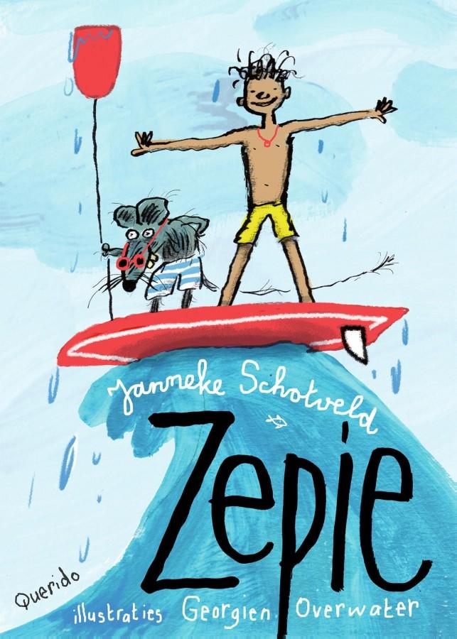 Zepie, surfer, rat, adventure, fantasy, children's books
