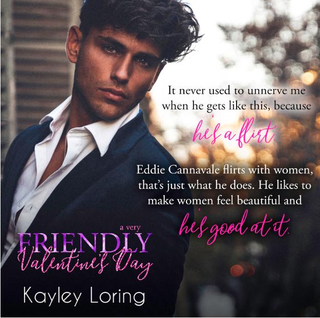 A Very Friendly Valentine's Day, Kayley Loring, Guy, Suit, Romance,