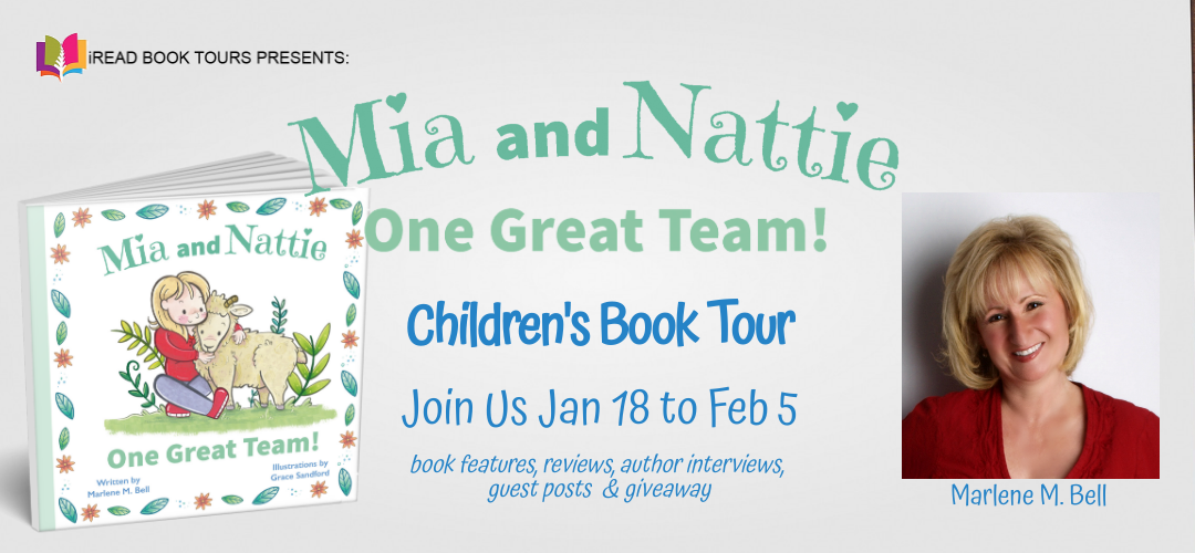 Mia and Nattie: One Great Team!, Marlene M. Bell, Picture Books, Sheep, Friendship, Children's Books