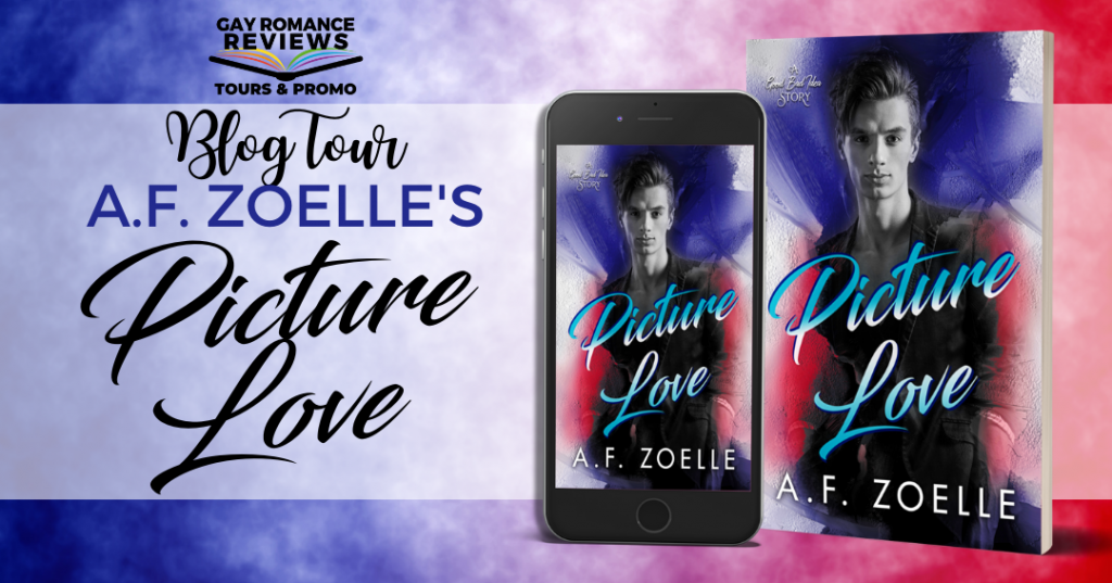 Picture Love, Good Bad Ideas Story, A.F. Zoelle, Red, Blue, Purple, LGBT, Romance, Dual POV