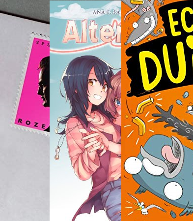 Top 10 books, Reading, Books, Echte Duiven, Real Pigeons, Alter Ego, Graphic Novel, Roze Brieven, Non-Fiction