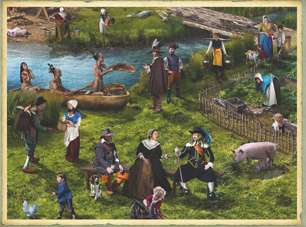400 Years of New York History – A Pictorial Guide: New York as New Amsterdam in the 1600s