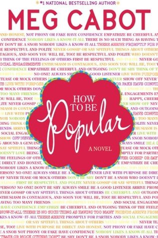 How to Be Popular, Red, Letters, Meg Cabot, How to Be Popular, Young Adult, Romance, Humour