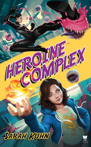 Heroine Complex, Superheroes, Fantasy, Women, Flames, Cupcakes, Monsters, Demons, Humour, Sarah Kuhn