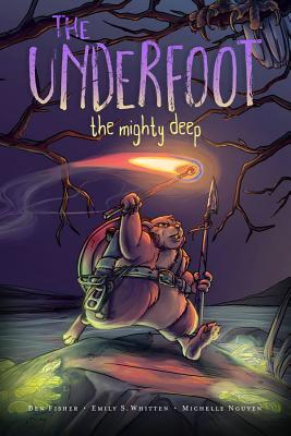 The Underfoot Vol. 1: The Mighty Deep, Ben Fisher, Emily S. Whitten, Michelle Nguyen, Hamster, Fire, Graphic Novel, Adventure, Fantasy, Animals, Hamsters