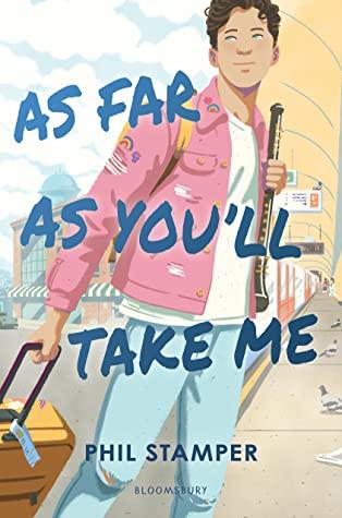 As Far as You'll Take Me, Phil Stamper, Pink Jacket, Suitcase, Travelling, London, LGBT, Romance, Music,