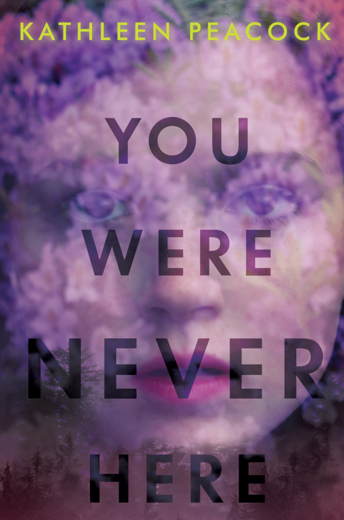 We Were Never Here, Kathleen Peacock, Young Adult, Mystery, Paranormal, Face, Purple, Blur, Suspense, Secret, Killer