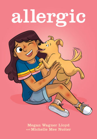 Allergic: Graphic Novel, Pink, Dog, Girl, Allergies, Megan Wagner Lloyd, Michelle Mee Nutter, Graphic Novel, Children's Books