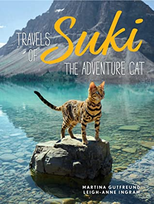 Travels of Suki the Adventure Cat, Leigh-Anne Ingram, Cats, Water, Lake, Rock, Mountains, Travelling, Non-fiction, Photography, Cats, Cute