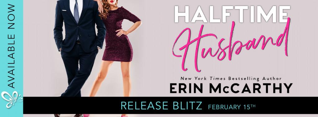 Erin McCarthy, Halftime Husband, Romance, Dancing, Sports, Nanny, Woman, Man