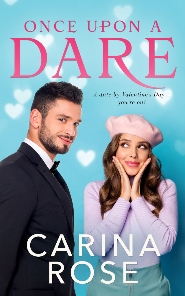 Once Upon A Dare, Carina Rose, Romance, Blue, Woman, Man, Suit, Purple Outfit