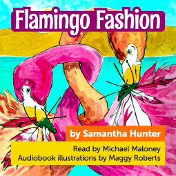 Flamingo Fashion, Samantha Hunter, Fashion, Children's Books, Flamingos,