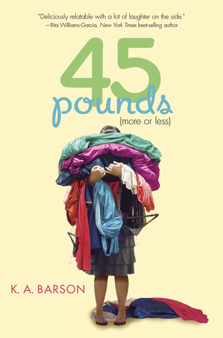 45 pounds (more or less), weight problems, girl, yellow, clothes, family, young adult, acceptance, k.a. barson