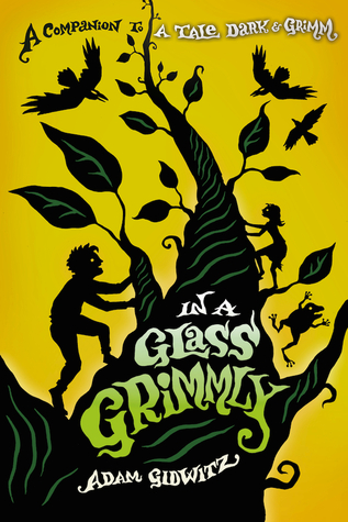 In a Glass Grimmly, Jack and Jill, Fantasy, Beanstalk, Boy, Silhouette, Shadow, Children's Books, A Tale Dark & Grimm, Book #2, Adam Gidwitz