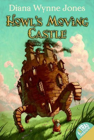 Howl's Moving Castle, Diana Wynne Jones, Book 1, Fantasy, Children's Book, Curses, Witches, Adventure, Walking House, Clouds, Grass
