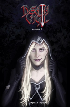 Stjepan Šejić, Death Vigil, Vol. 1, Woman, Cape, Necormancers, Primordials, Fantasy, Graphic Novel, Comics, Humour, Reality Altering Weapons,