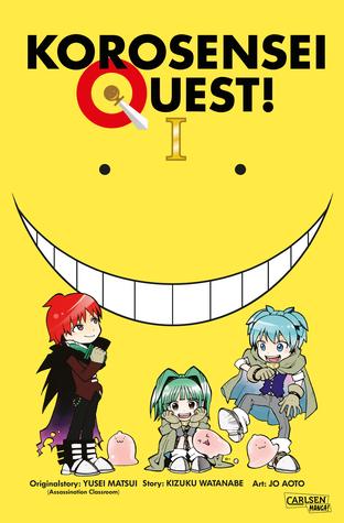 Korosensei Quest 1, Yuusei Matsui, Yellow, Smile, Face, Demon, Quests, Fantasy, Manga, Assassination