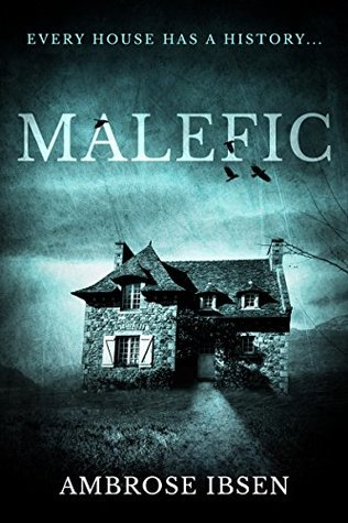 Malefic, House of Souls, Book 2, Blue, House, Dark, Clouds, Horror, Ghosts, Souls, Horror Stupidity, Mystery, Ambrose Ibsen