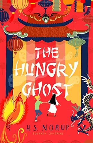 H.S. Norup, Red, Shrine, Ghost, Girl, Singapore, Fantasy, Children's Books, The Hungry Ghost