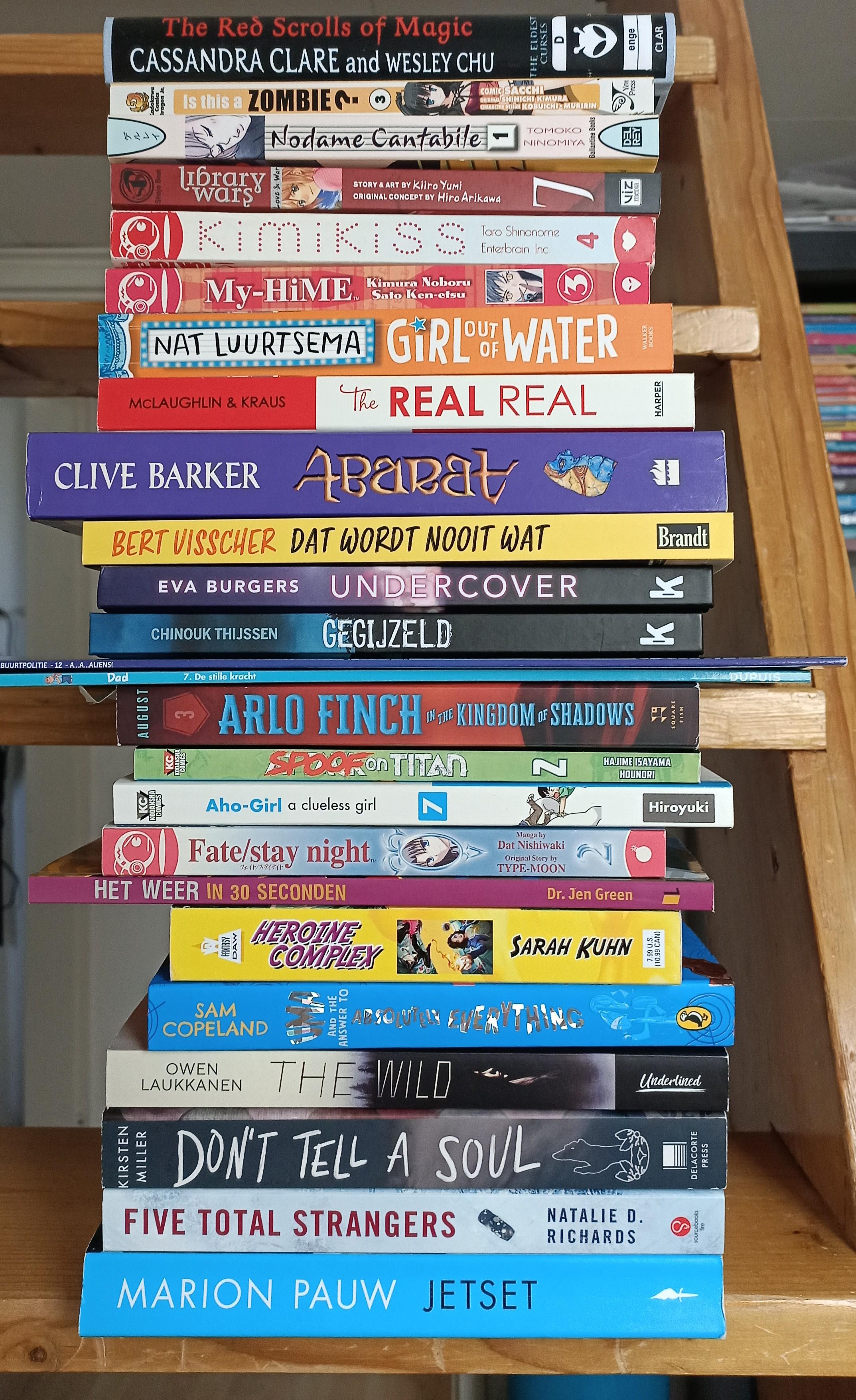TBR, Pile of books, Reading