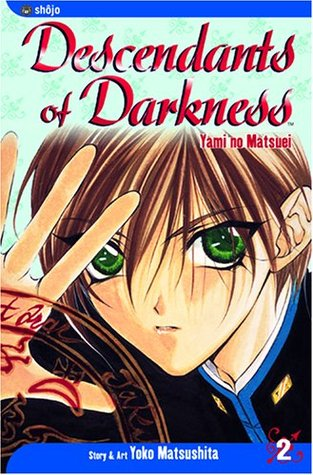 Descendants of Darkness, Volume 2, Yami no Matsui, Shinigami, Fantasy, Death, Murder, Loss, Angels, Mystery, Humour, Manga, Guy, Blood, Roses, Yoko Matsushita