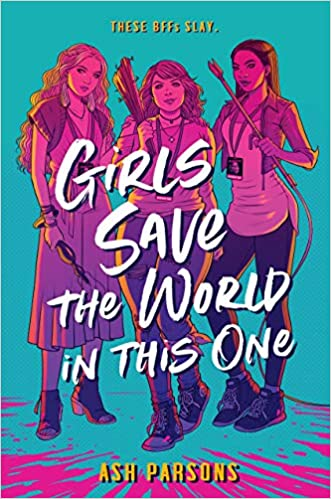 Girls Save the World in This One, Zombies, Survival, Cons, Horror, Pink, Purple, Girls, Ash Parsons