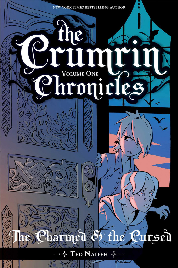 The Crumrin Chronicles Vol. 1: The Charmed and the Cursed, Ted Naifeh, Boy, Girl, Door, House, Fantasy, Magic, Graphic Novel, Vampires, Family, Revenge