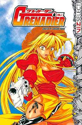 Grenadier: Volume 1, Blonde, Red Outfit, Gun, Adventure, Fantasy, Manga, Humour, Sousuke Kaise