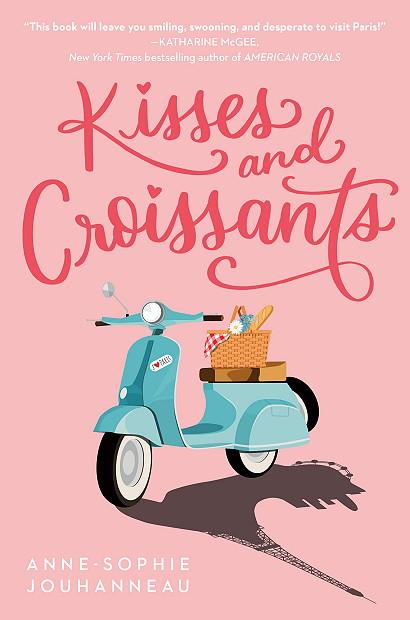 Kisses and Croissants, Pink, Scooter, Picknick basket, Young Adult, Romance, Anne-Sophie Jouhanneau, Ballet, Romance, Paris, France