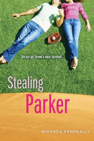 Stealing Parker, Hundred Oaks, Young Adult, Sports, Romance, Lying on grass, Glove, ball, Miranda Kenneally