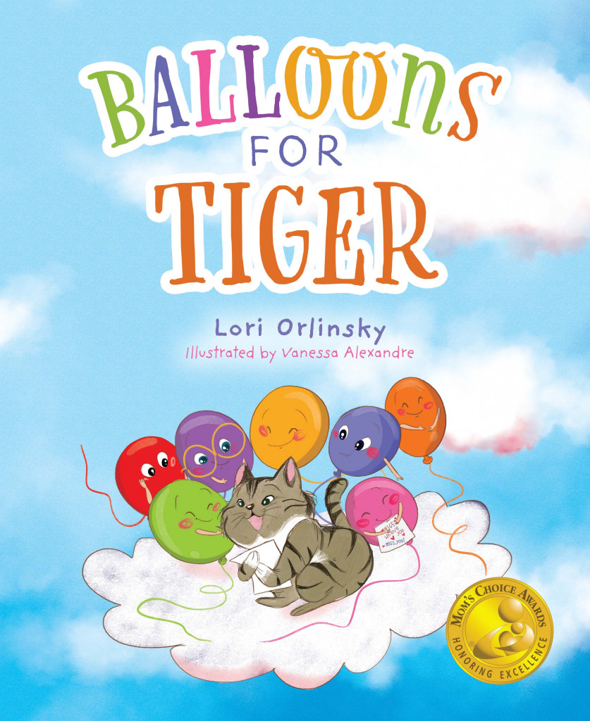 Balloons for Tiger, Picture Book, Balloons, Loss, Mourning, Pets, Lori Orlinksy