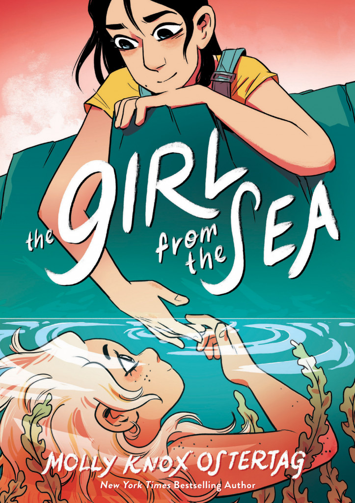 The Girl from the Sea, Molly Ostertag, Sea, Girls, Young Adult, Graphic Novel