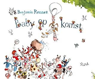 Baby op komst, graphic novel, humour, animals, baby, stork, Benjamin Renner,
