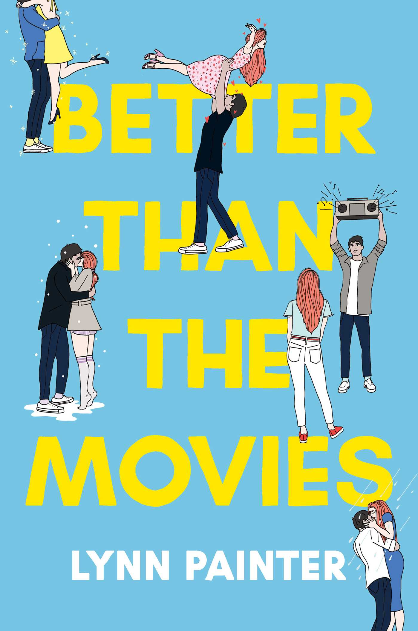Better Than the Movies, Blue, Yellow, Boy, Girl, Romance, Pranks, Funny, Lynn Painter