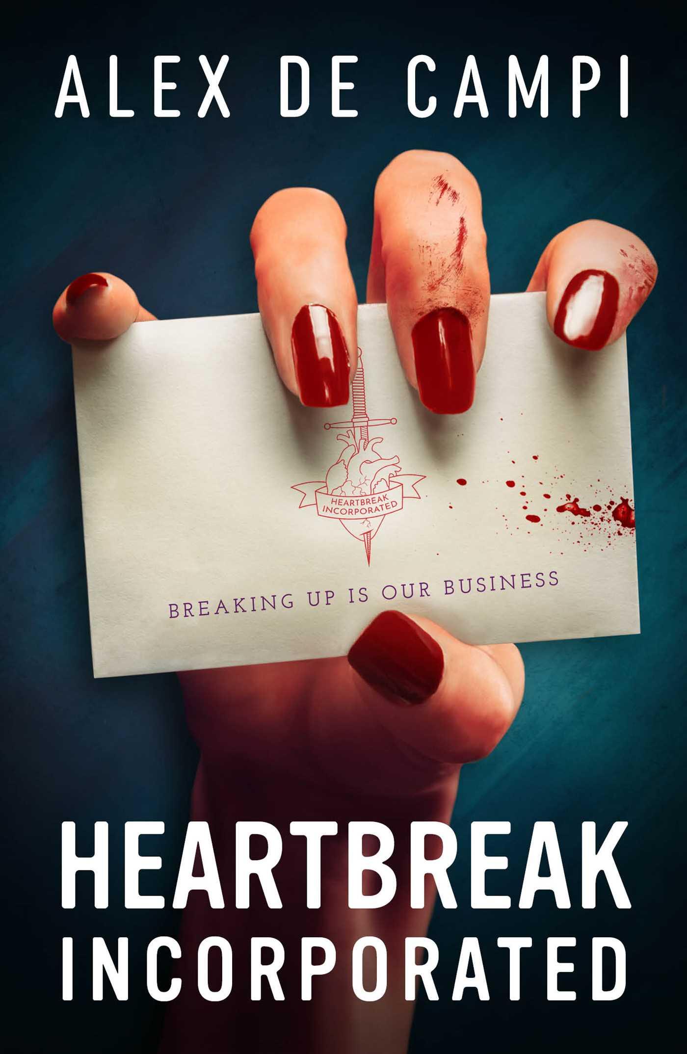 Heartbreak Incorporated, Occult, Mystery, Sex, Romance, Adult, Alex de Campi, Nails, Blood, Card