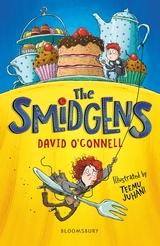 The Smidgens, Yellow, Table, Food, Girl, Boy, Children's Books, Fantasy, Adventure, David O'Connell, Teemu Juhani