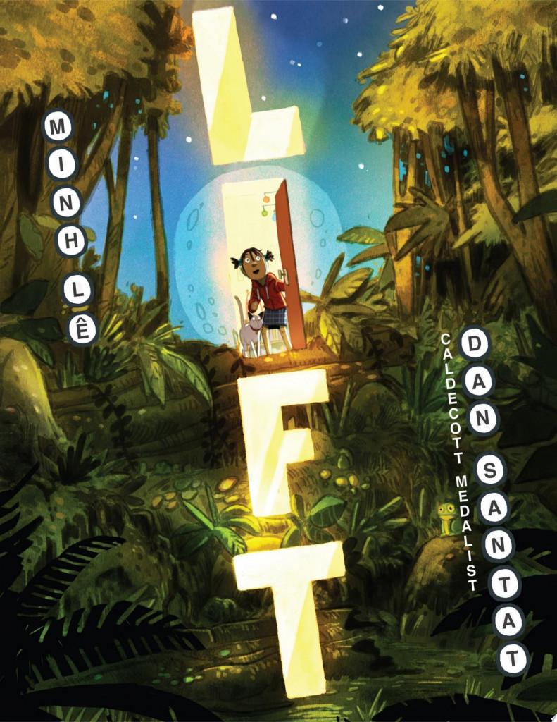 Lift, Brother, Family, Picture Book, Children's Books, Cat, Girl, Elevator, magic, Fantasy, Min Lê & Dan Santat