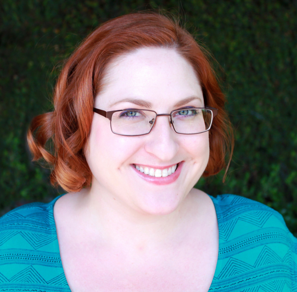 Alexa Donne, Author, Glasses, Photograph, Red Hair