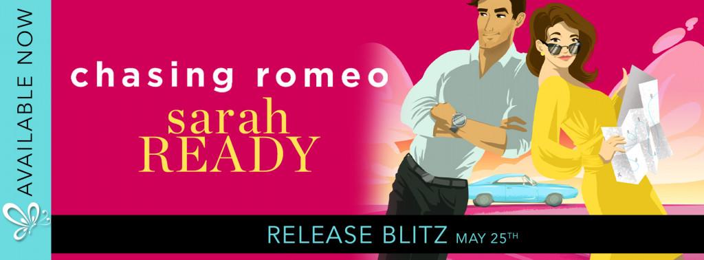 Chasing Romeo, Sarah Ready, Red, Woman, Man, Romance, Soul Mates, Road Trip